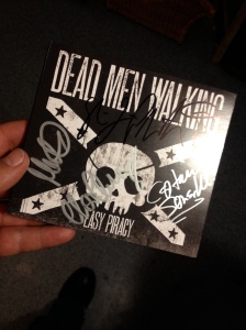 New CD signed by the band!