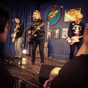 Dead Men Walking rocking Amoeba Records!